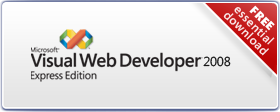 Visual Web Developer Express Edition SP1